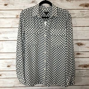 NWT Ann Taylor Long Sleeve Blouse